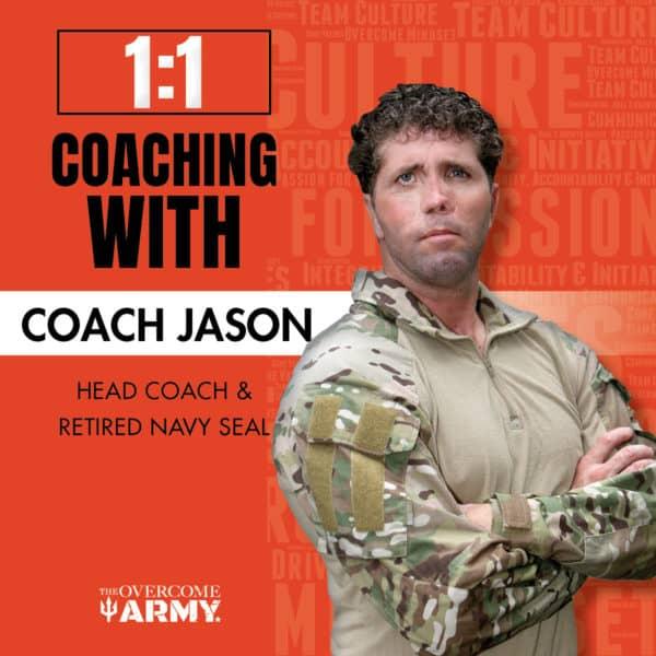 1:1 Coaching Jason Redman